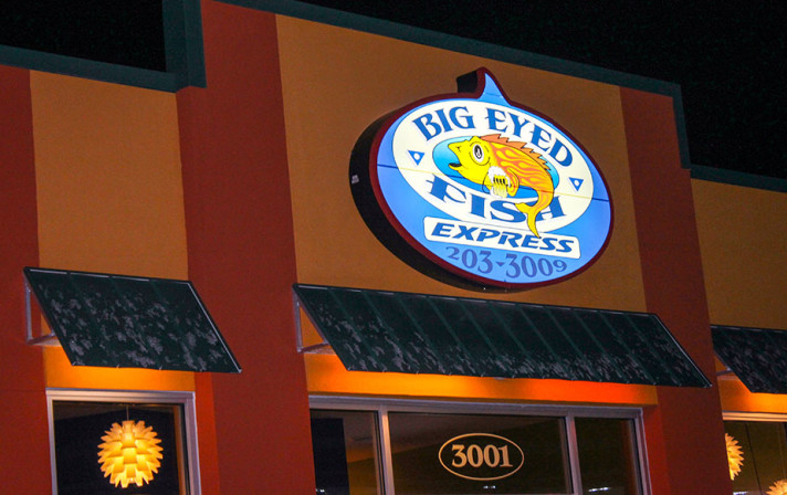 Big Eyed Fish Express